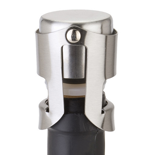 New Arrival New Fashion Stainless Steel Champagne Stopper Sparkling Wine Bottle Plug Sealer  6RVC