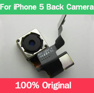 1PC For iPhone 5 Big Camera 100 Original Back Rear Camera Replacement
