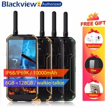 "Blackview BV9500 Pro Mobiele Telefoon Android 8.1 Octa Core 5.7 ""18:9 MTK6763T 6 GB RAM 128 GB ROM IP68 waterdichte Smartphone NFC OTG"