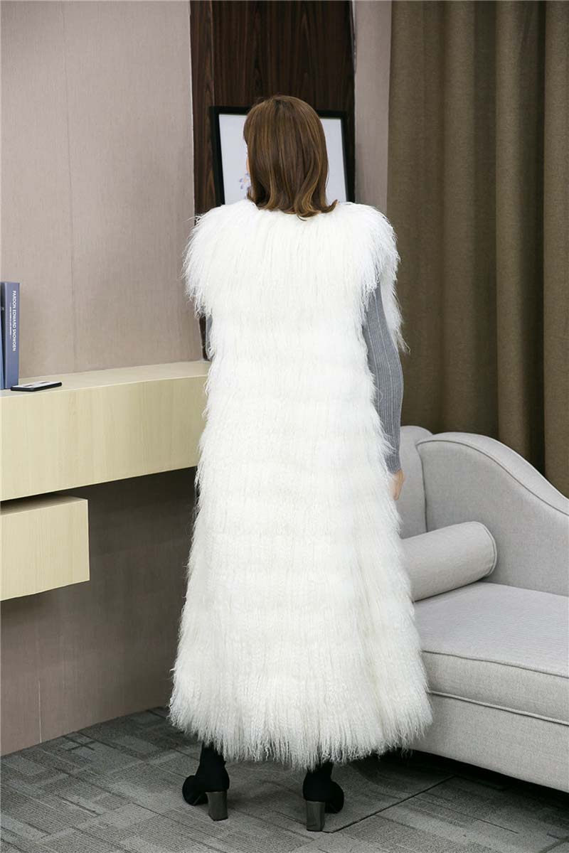 Tibet lamb fur vest long (1)