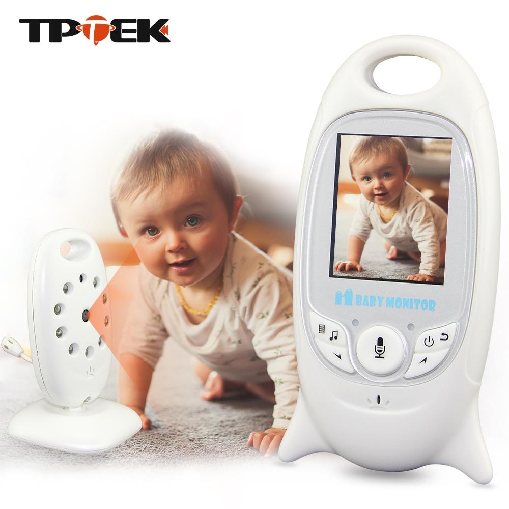 2 pouces couleur vidéo sans fil bébé moniteur caméra de sécurité Baba électronique Radio vidéo nounou Vision nocturne température Babysitter
