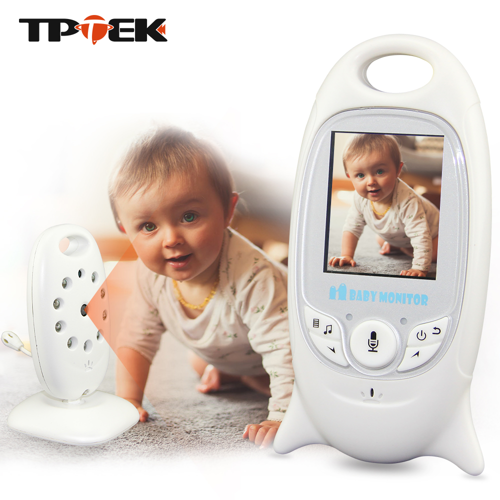 2 pulgadas Color Video Wireless Baby Monitor cámara de seguridad Baba electrónica Radio Video Nanny visión nocturna temperatura niñera