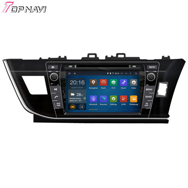 Top Quad Core Android 5 1 font b Car b font DVD Player For TOYOTA Corolla