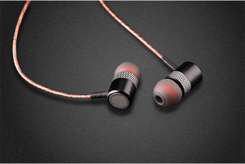 High-end Brand Headphone Subwoofer Sound Quality Headset Anti-noise Metal Earphone With Mic Earbuds For Earpod Airpods Free Gift