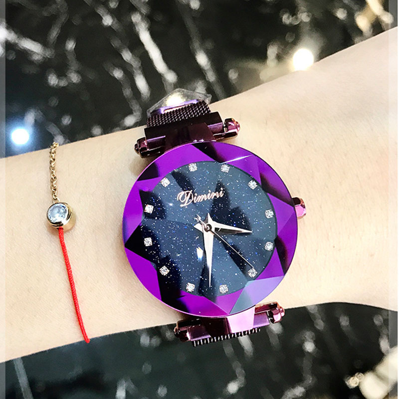 Woman Watch Luxury Brand Lady Wrist Watch Starry Sky Zegarek Damski Montre Femme 2018 Fashion Women Watch Clock Relogio Feminino пуловер violeta by mango violeta by mango vi005ewbvkk2