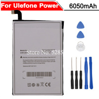 Ulefone Power Battery 6050mAh Bateria Accumulator AKKU High Quality