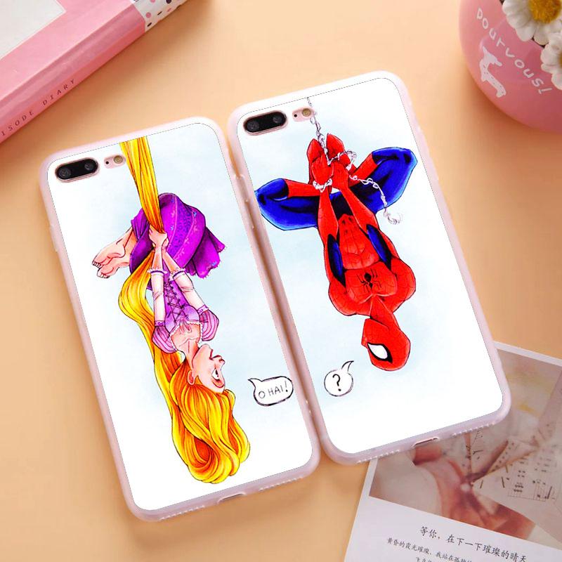 Batman Harry Potter Brain BFF Best Friends Case Apple iPhone 6S Plus Supernatural Mandala 6+ 5.5 inch  -  Cathy(US store Gift Phone Co., Ltd.)