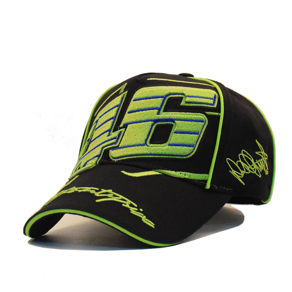 New Moto GP Cotton The Doctor Rossi VR 46 Caps Mens Moto Racing Cap Motorcycle Baseball Cap Car  Sun Hats Casquette 2016 new cotton sports rossi vr46 caps motogp racing motorcycle baseball cap car visors sun hats casquette