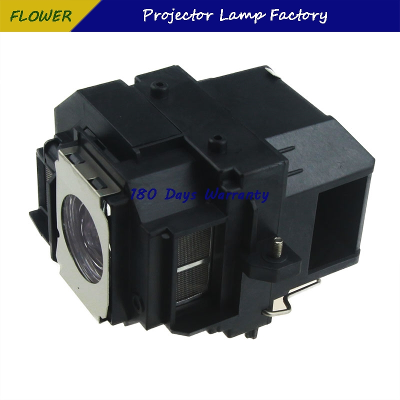 ELPLP58 Replacement Projector Lamp with Housing for EPSON EB-S10/EB-S9/EB-S92/EB-W10/EB-W9/EB-X10