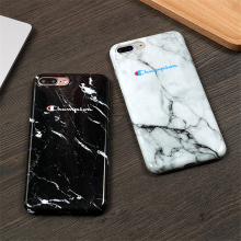 Champion Marble Phone Case  6 6s 7 8 Plus X XR XS Max