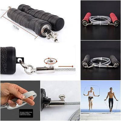 Newest Skipping Rope Crossfit Jump Rope Men Women Gym Fitness Equipment Sport Jumping Rope Training Exercise Skipping Speed Rope