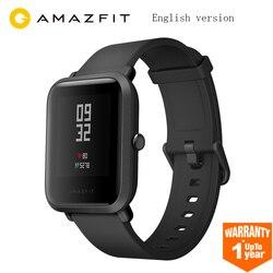 NEUE Huami Amazfit Bip Smart Uhr GPS Gloness Smartwatch Smart Uhr 45 Tage Standby für Telefon MI8 IOS Englisch Version
