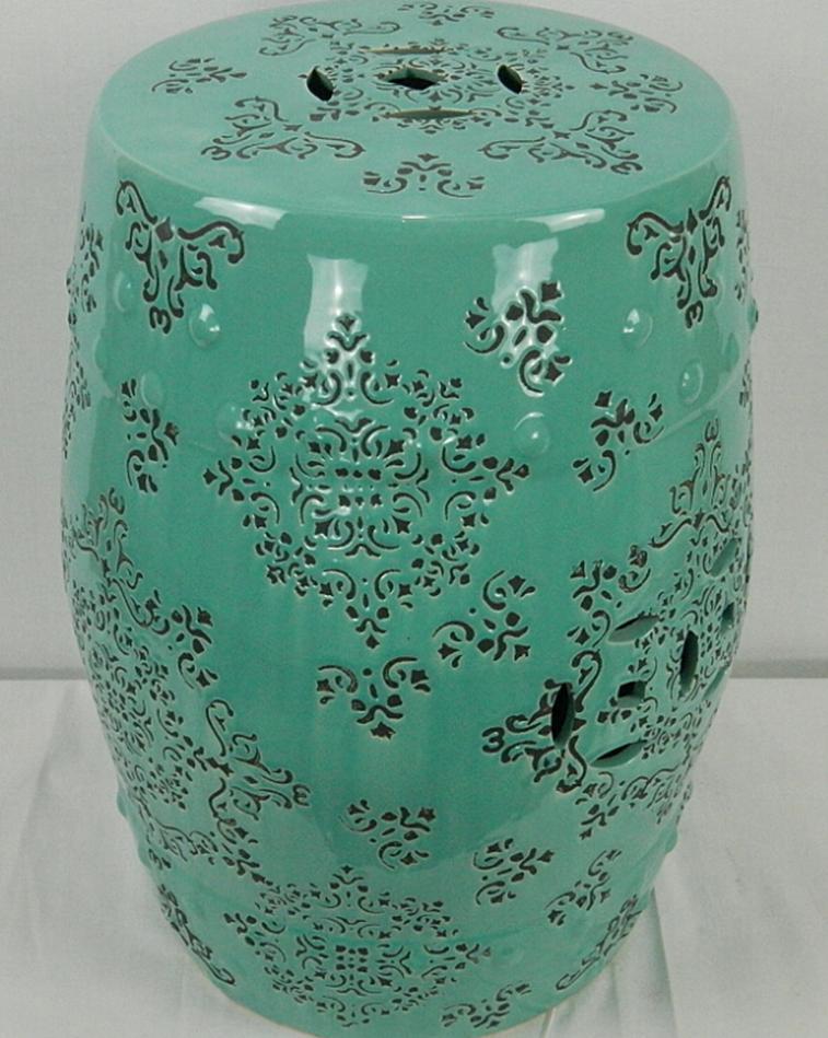 Jingdezhen Indoor Ceramic Antique Home Drum Porcelain