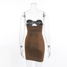 FREE SHIPPING !! Women Sexy Sparkly Birthday Spring cocktail Party Dresses JKP958