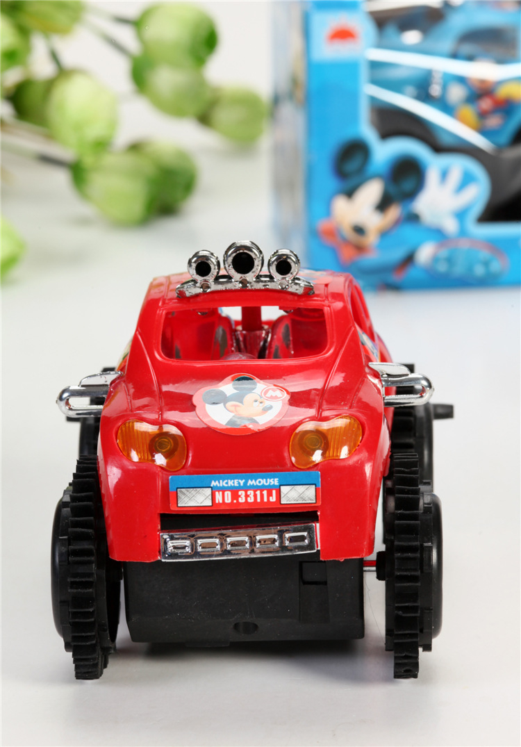 1pc pack children cartoon electric vehicle car toys kids battery traffic car diecast toys for christmas gift fast shipping