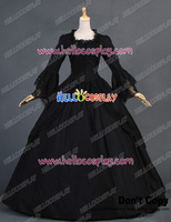 Marie Antoinette Victorian French Formal Period Gown Reenactment Lolita Dress Costume H008