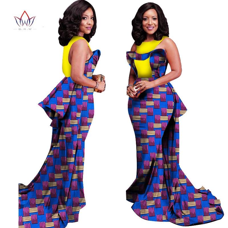 Neue benutzerdefinierte afrikanische kleidung frauen party kleider - Damenbekleidung