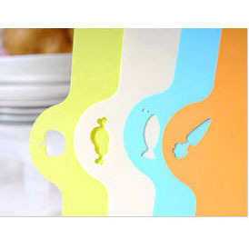 Top Quality Plastic Chopping Block Flexible Plastic Cutting Board Antibiotic Kitchen Utensils Chopping Board