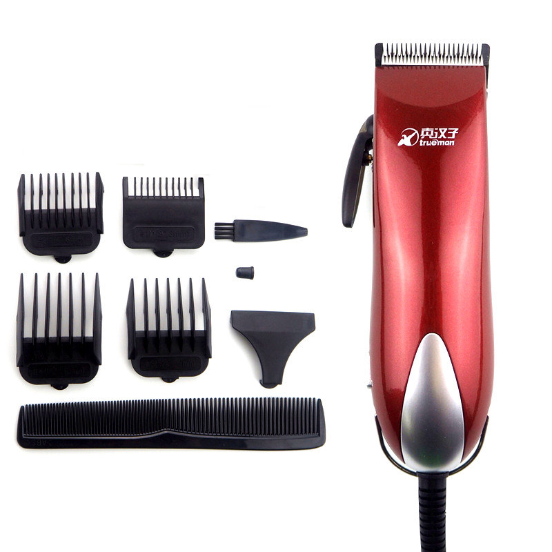 High power 25W Professional HairClipper Stainless steel Clippers Hair Trimmer Powerful Hair Cutting Shaving Machine For Men Baby