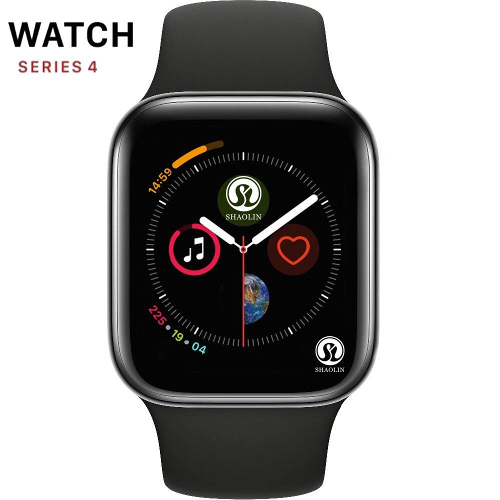 50% off Série 4 Smartwatch Bluetooth Relógio Inteligente Relógio de Homens com Telefonema Câmera Remota para IOS Apple iPhone Android Samsung HUAWEI
