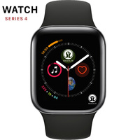 50%off Smartwatch Series 4 Bluetooth Smart Watch Men with Phone Call Remote Camera for IOS Apple iPhone Android Samsung HUAWEI