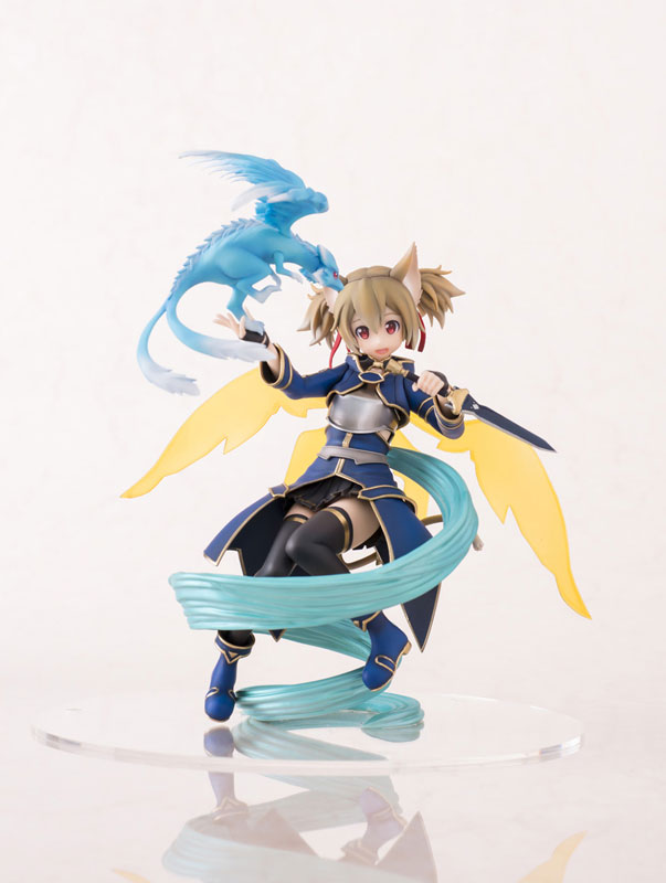 20cm Sword Art Online II Shirica Action Figures PVC brinquedos Collection Figures toys for christmas gift Free shipping hot anime vocaloid hatsune miku action figures pvc brinquedos collection figures toys kids birthday christmas gift free shipping