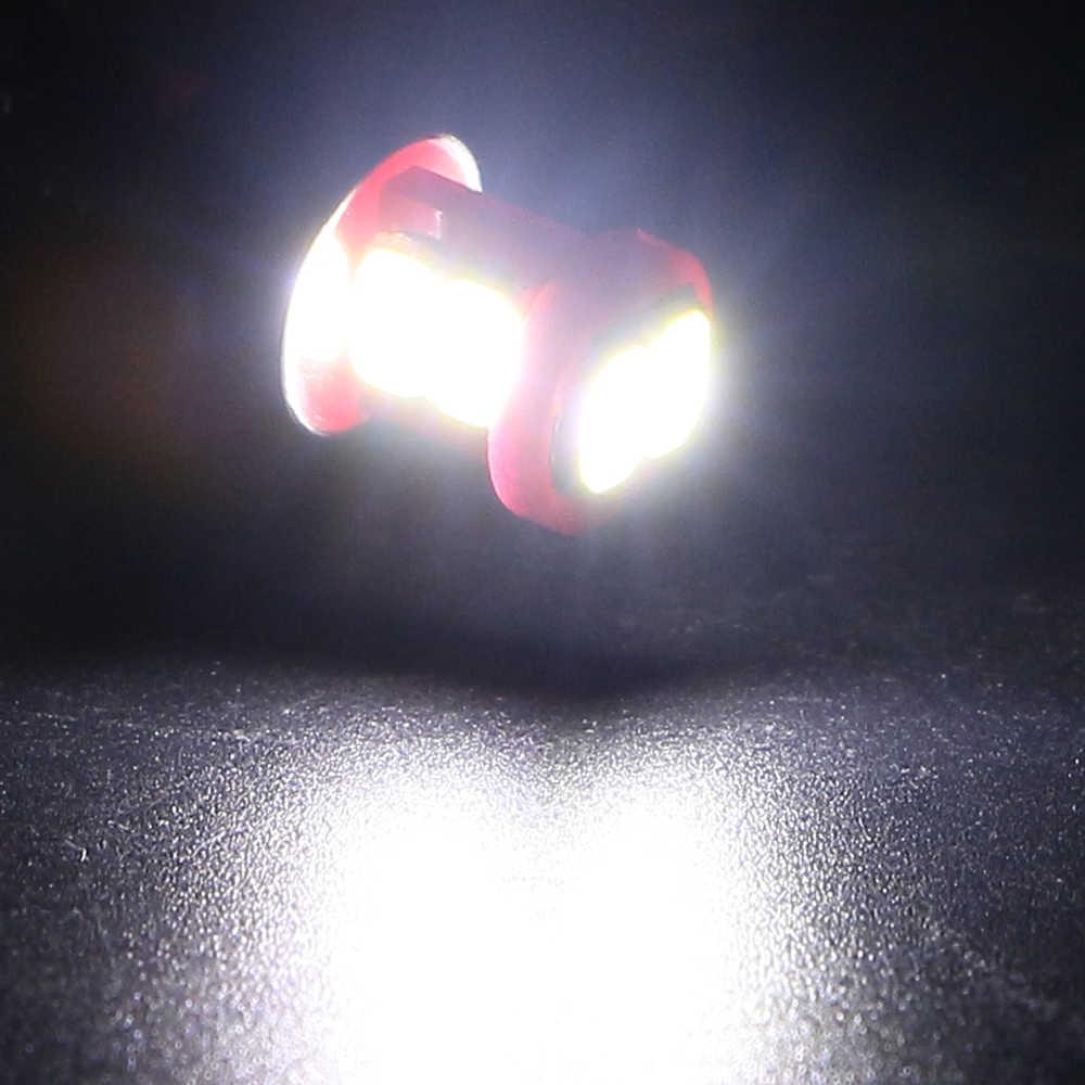50ピース/ロットt10 w5w led canbusスーパー明るいt10 6 smd 5630 6 smd ledレッドエラーフリー車計器ライト自動ダッシュボードランプ