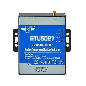 Image 1 - GSM Modbus RTU אנלוגי מתמר 0 5V כוח מתח ניטור אזעקת הפסקת חשמל מערכת עם SMS התראה RTU5027V