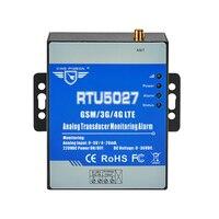 GSM Modbus RTU Analog Transducer 0 5V Power Voltage Monitoring Power Failure Alarm System with SMS Alert RTU5027V