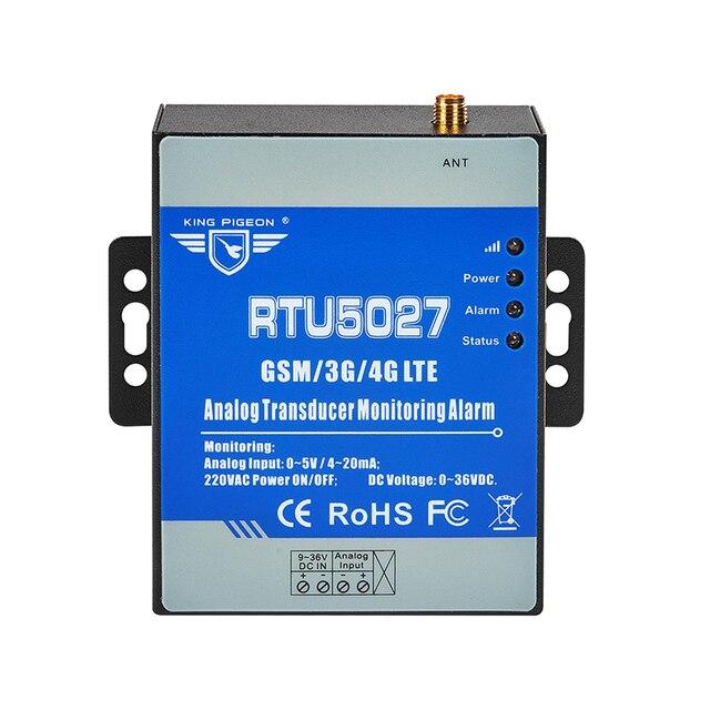 Transducteur analogique GSM Modbus RTU 0 5V surveillance de la tension dalimentation système dalarme de panne de courant avec alerte SMS RTU5027V