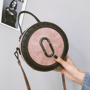 Beibaobao 2019 Women Fashion Handbag Hollow Out Shoulder Bag Tote Ladies Purse Hobo Bags Round package High Quality Shoulder bag