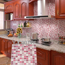Kitchen Wall Tile Decaks Art Decor Hot Sale Easy Remove Home 9.3x9.3