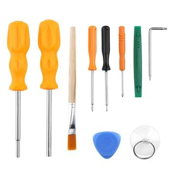 10 in 1 Game Console MGC Screwdrivers Pry Disassemble Repairing Opening Tool Set Kit for Nintend Switch