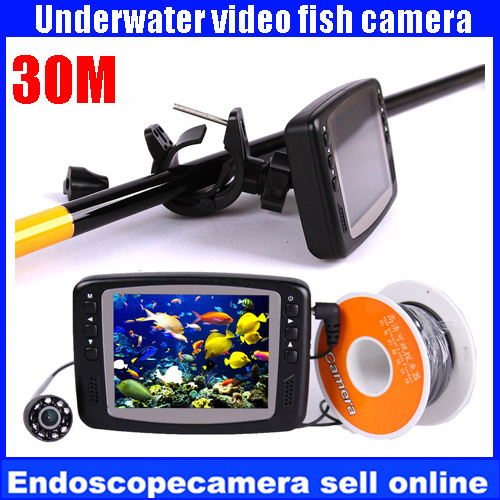 Free DHL Shipping!  Original Bestwill  3M 4.3 Screen Underwater Camera Sea Fish Finder with CMOS1200TVL цена 2016