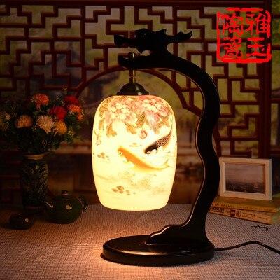 фарфор настольная лампа