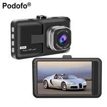 Podofo 3″ Car DVR Video Recorder HD 1080P Car Camera Dash cam Night Vision Motion Detection Loop Recording Registrator Dashcam