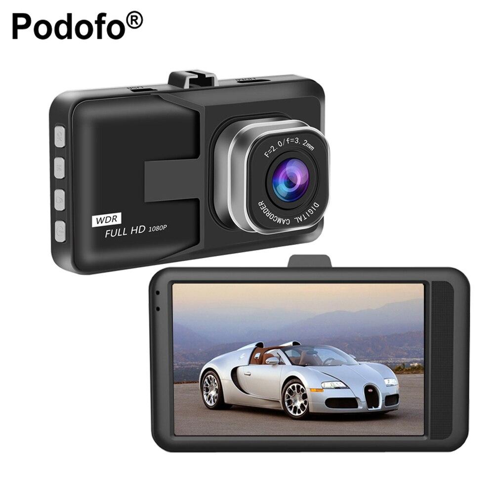 Podofo 3 Car DVR Video Recorder HD 1080P Car font b Camera b font Dash cam