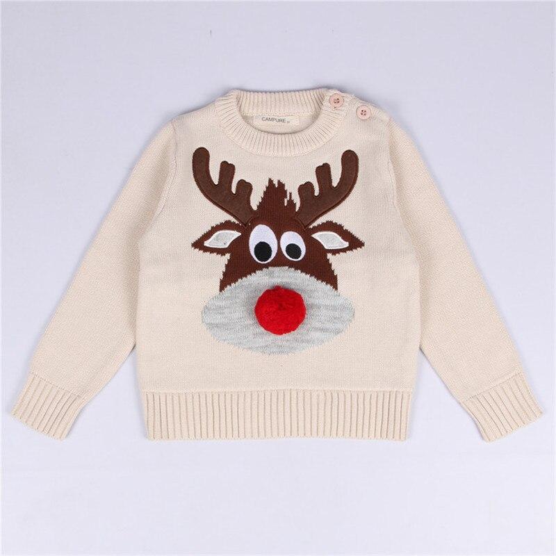 ჱ2018 fashon otoño suéter bebé Navidad niño muchachas pullover ...
