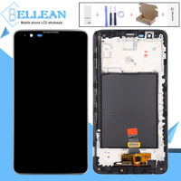 Catteny For LG Stylus 2 LCD Touch Screen Digitizer Assembly Repalce For LG Stylus 2 Display K520 LS775 Display With Frame+Tools