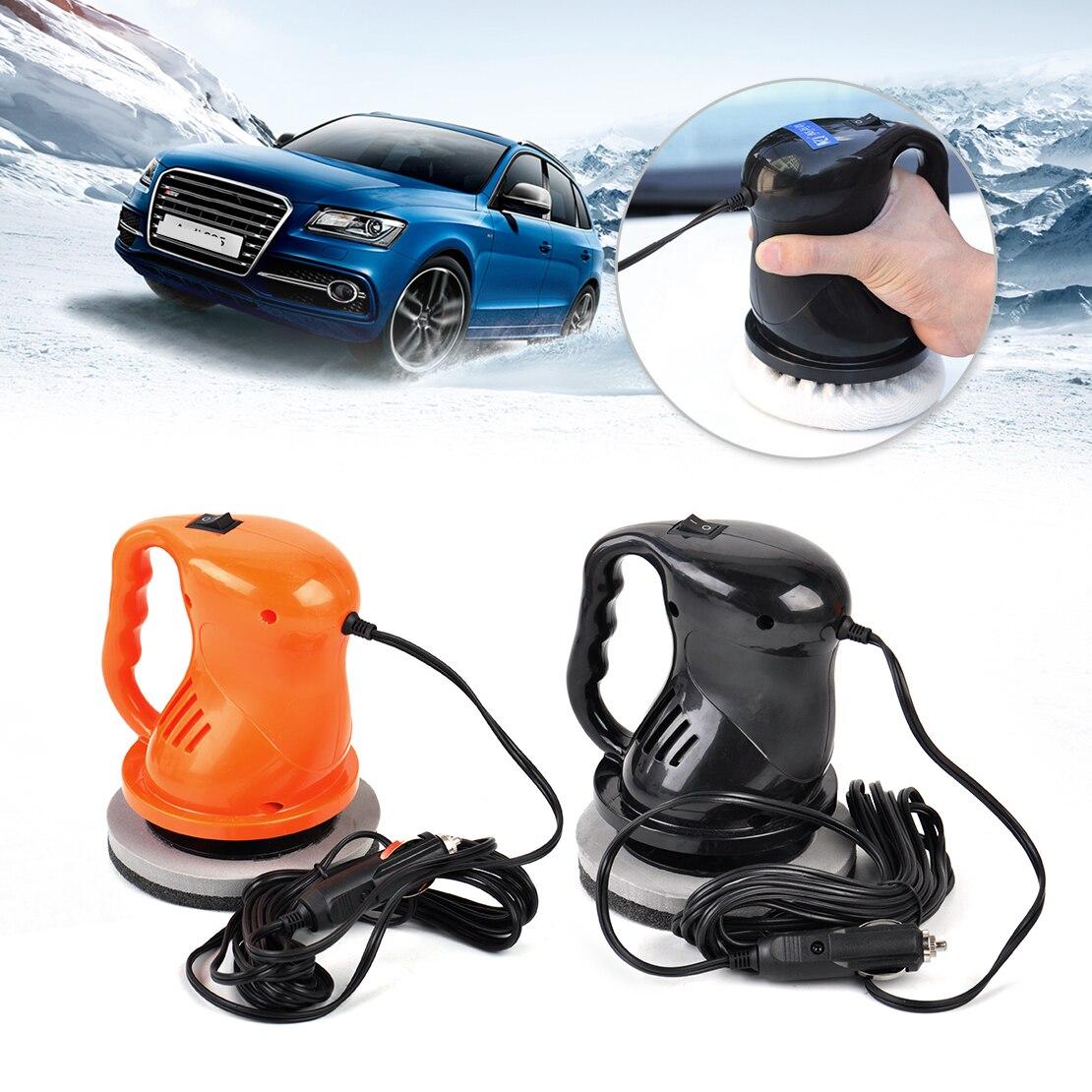 CITALL 1pc black / orange 12V 40W Electric Car Polishing Buffing Waxing Machine Home Outdoor Waxer Polisher