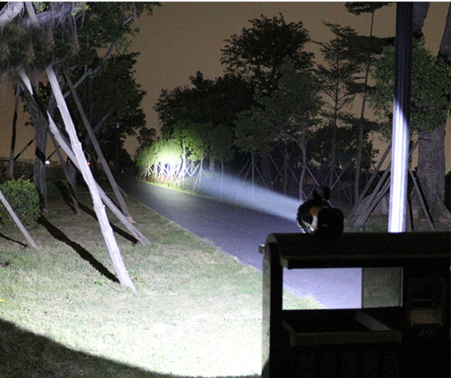 2016 yüksek parlaklık LED cree xml-t6 Taşınabilir Fenerler kamp avcılık için şarj edilebilir dahili lityum pil ışıldak