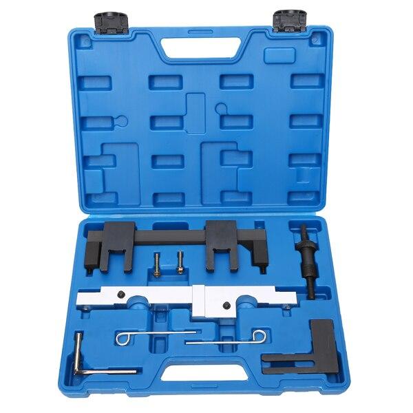 HTL TOOLS 7 PCS Engine Camshaft Alignment Tool For BMW N43 1.6 2.0 E81 E82 E87 E88 E90 E91 E92 E93 Timing Tool Set wholesale 2 2 2 5 dci engine camshaft timing tool crankshaft alignment locking set for renault auto repair tools 2pcs lot