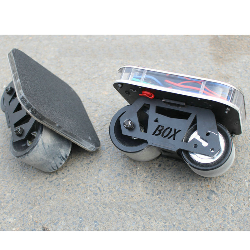 Nuevo monopatín eléctrico 70mm ruedas a la deriva de 20 km/h 150 W Motor Skateboard 2200 mAh Motor - 5