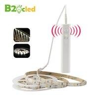 DC 5V LED Strip Night Light Light Sensor PIR Motion Sensor For Wardrobe Cabinet Bedside Belt