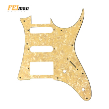 Pleroo Guitar parts pickguards suit for Japan MIJ Ibanez GRX40 Guitar best quality HSS Pick guard Music Replacement Accessory ibanez gsd50 design guitar strap