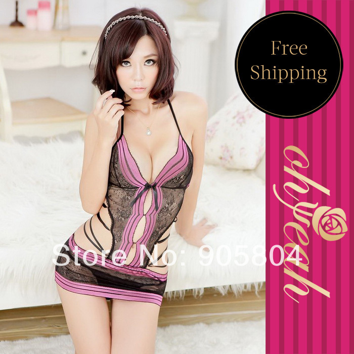 L8243 New Arrival Factory Price Wholesale And Retail Recommend Sexy Teddy Nightwear Dress font b Sex