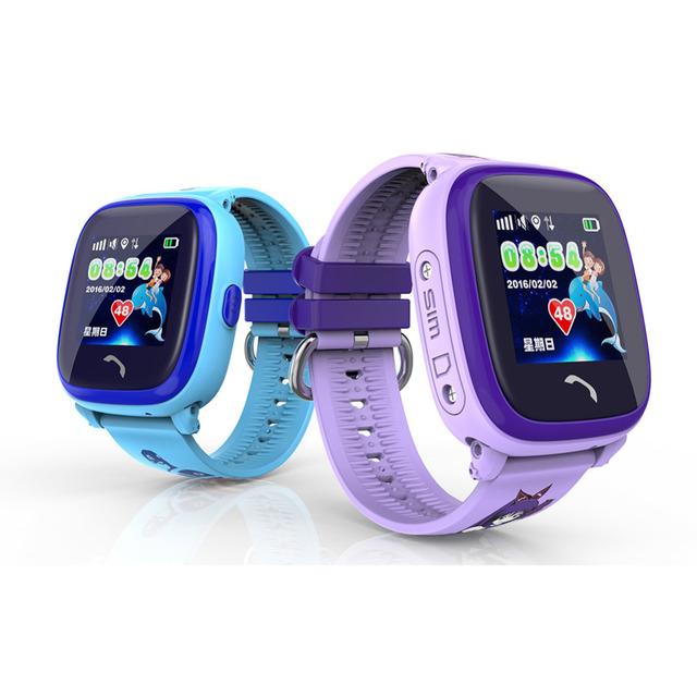 Gps à prova d' água smart watch relógio da tela de toque do sim chamada sos dispositivo de localização de crianças do bebê seguro anti-perdido do monitor rastreador smartwatch