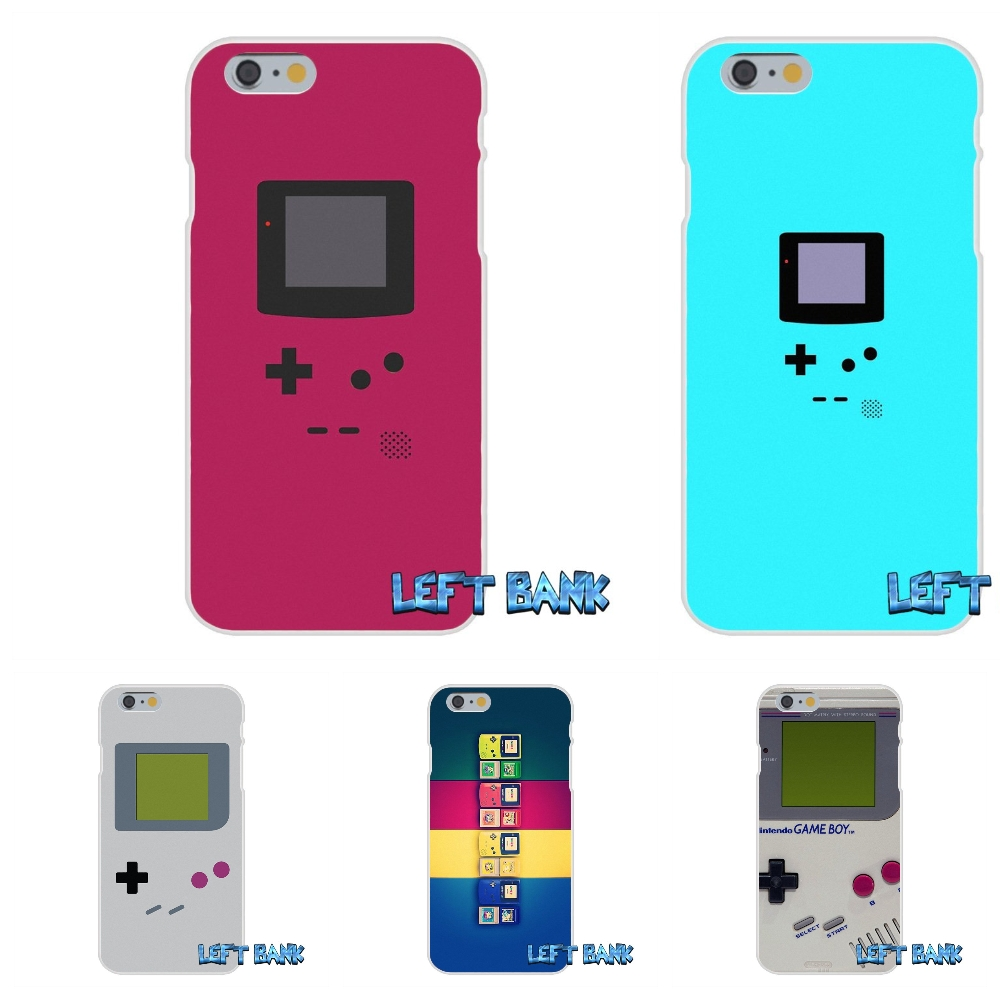 For iPhone 4 4S 5 5S 5C SE 6 6S 7 Plus cartoon Game Boy Gameboy Soft Silicone TPU Transparent Cover Case
