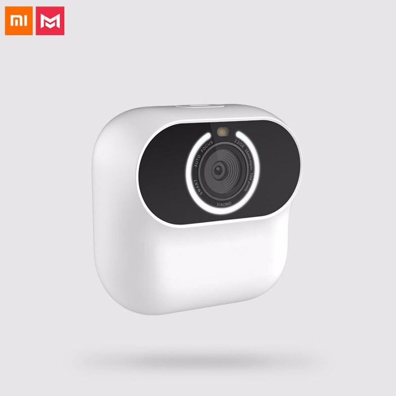 Caméra originale Xiaomi Xiaomo AI CG010 Mijia Mini caméra magnétique autoportrait geste prise de vue vidéo télécommande intelligente APP