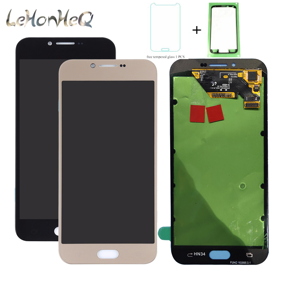 For Samsung Galaxy A8 2016 A810 A8100 A810DS Touch Screen Digitizer LCD Display For Samsung A810F Assembly 5.7 original LCD image
